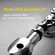Three-Part Invention #1 for flute