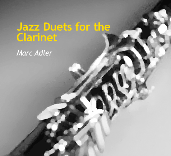jazz-duets-for-the-clarinet-by-marc-adler-cover