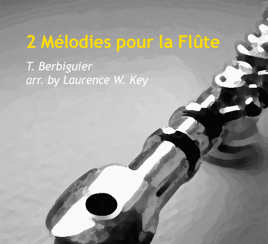 2-melodies-pour-la-flute-by-laurence-w-key-cover