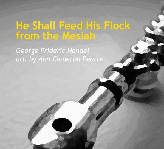 he-shall-feed-his-flock-by-ann-cameron-pearce-cover