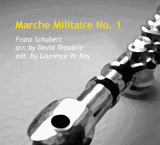 marche-militaire-no-1-by-laurence-w-key-cover
