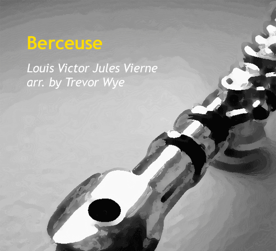 berceuse-by-trevor-wye-cover